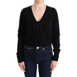 Clothing Women Jumpers Marghi Lo' MARGHI LO' Black Wool Blouse S 38