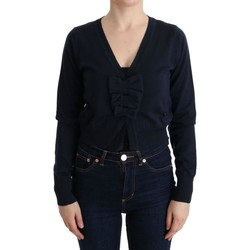 Clothing Women Jumpers Marghi Lo' MARGHI LO' Blue Wool Blouse Sw 19
