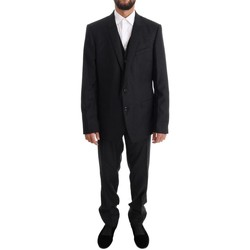 Clothing Men Suits D&G Gray Wool GOLD 35