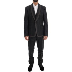 Clothing Men Suits D&G Gray Wool One 35