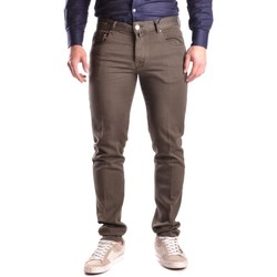 Clothing Men Chinos Pto5 Men's Jeans In Brown 28
