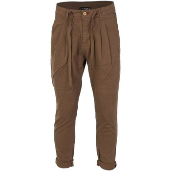 Clothing Men Chinos Over-D Men's Trousers In Brown 28