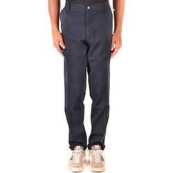 Clothing Men Chinos Mason`s Men's Trousers In Blue Blue