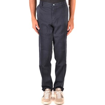 Clothing Men Chinos Mason`s Men's Trousers In Blue 19