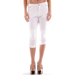 Clothing Women Cropped trousers Sexy Woman Women's Trousers In White