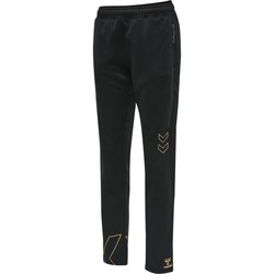 Clothing Women Tracksuit bottoms Hummel Pantalon femme  hmlCIMA noir