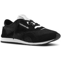 Shoes Women Low top trainers Reebok Sport CL Nylon Slim Pigment Msh Black