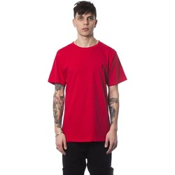 Clothing Men Short-sleeved t-shirts Nicolo Tonetto Rosso Red T-shi red