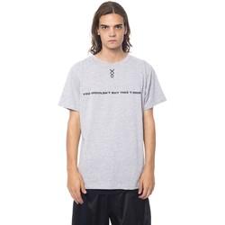 Clothing Men Short-sleeved t-shirts Nicolo Tonetto Grigio Grey T-s Gray