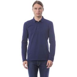 Clothing Men Long-sleeved polo shirts Verri Vblu T-shirt Blue