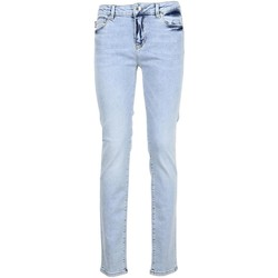 Clothing Women Slim jeans Love Moschino Women's Jeans In Blue