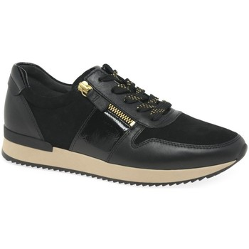 Shoes Women Low top trainers Gabor Lulea Womens Casual Trainers black