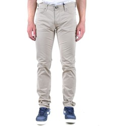 Clothing Men Chinos Roy Roger`s Men's Trousers In beige