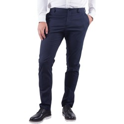 Clothing Women Chinos Selected Men's Trousers In Blu 19