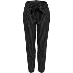 Clothing Women Chinos Only Women's Trousers In Black 38