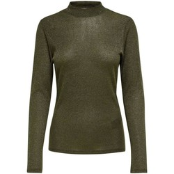 Clothing Women Jumpers Only Women's T-Shirt In Green 25