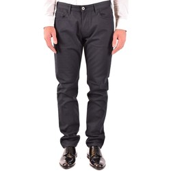 Clothing Men Straight jeans Armani Men's Jeans In Blue