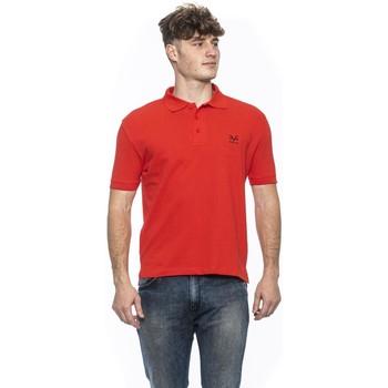 Clothing Men Short-sleeved polo shirts 19V69 Italia Men's Polo In Red 8