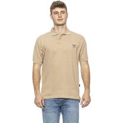 Clothing Men Short-sleeved polo shirts 19V69 Italia Men's Polo In Bei 6887