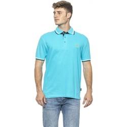 Clothing Men Short-sleeved polo shirts 19V69 Italia Men's Polo In Blu Blue