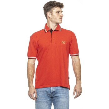 Clothing Men Short-sleeved polo shirts 19V69 Italia Men's Polo In Red red
