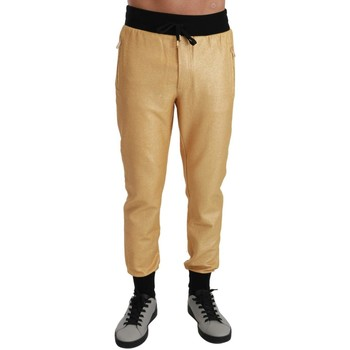 Clothing Men Trousers D&G Gold Pig of th gold