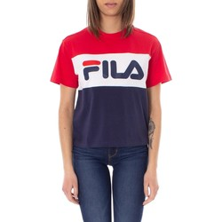 Clothing Women Short-sleeved t-shirts Fila Women's T-Shirt In Red red