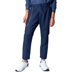 Clothing Men Chinos Imperial Men's Trousers In Blu 19