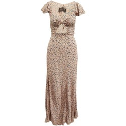 Clothing Women Long Dresses Reformation Pink Print Maxi Dr pink
