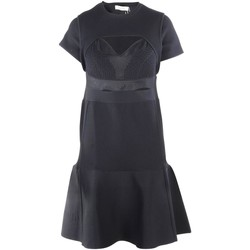 Clothing Women Short Dresses Valentino Cut Out Flare Dress 38