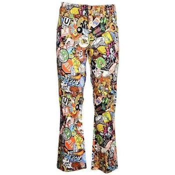 Clothing Women Chinos Moschino Women's Trous Multicolor