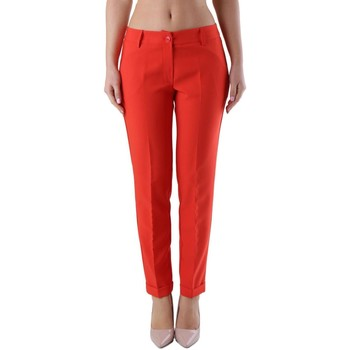 Clothing Women Chinos Olivia Hops Women's Trousers I red