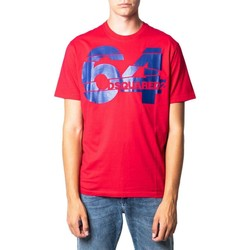 Clothing Men Short-sleeved t-shirts Dsquared Men's T-Shirt In Red red