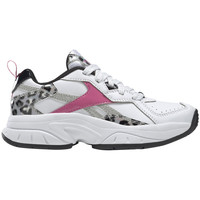 Shoes Girl Low top trainers Reebok Sport Chaussures fille  Xeona blanc/argent/rose