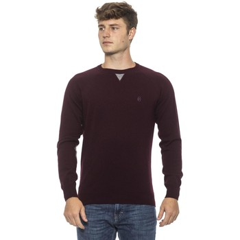 Clothing Men Jumpers Conte Of Florence Wine Sweater Burgundy