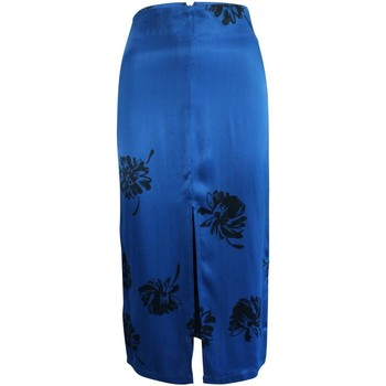 Clothing Women Skirts Reformation Blue Skirt With Bl 19