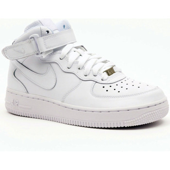 Shoes Men Hi top trainers Nike AIR FORCE 1 MID (GS) Multicolore