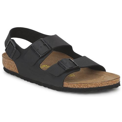 Shoes Men Sandals Birkenstock MILANO Black