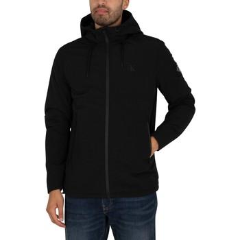 Clothing Men Jackets Calvin Klein Jeans New Harrington Jacket black