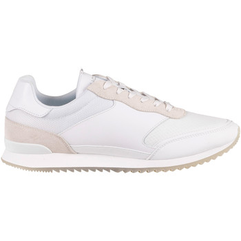 Shoes Men Low top trainers Lacoste Partner Luxe 0121 1QSPSMA Leather Trainers white