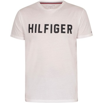 Clothing Men Sleepsuits Tommy Hilfiger Lounge Graphic T-Shirt white