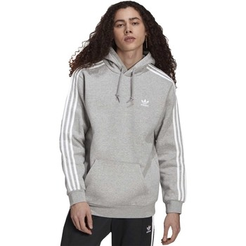 Clothing Men Sweaters adidas Originals Adicolor Classics 3STRIPES Hoodie Grey