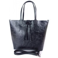Bags Women Shopping Bags / Baskets Vera Pelle SB599N Black