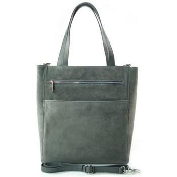 Bags Women Shopping Bags / Baskets Vera Pelle SV55G Grey