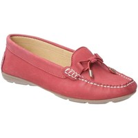 Shoes Women Loafers Hush puppies Maggie Womens Moccasin Shoes red