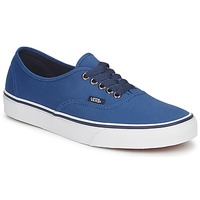 Shoes Low top trainers Vans AUTHENTIC Dark Blue / Dress Blue