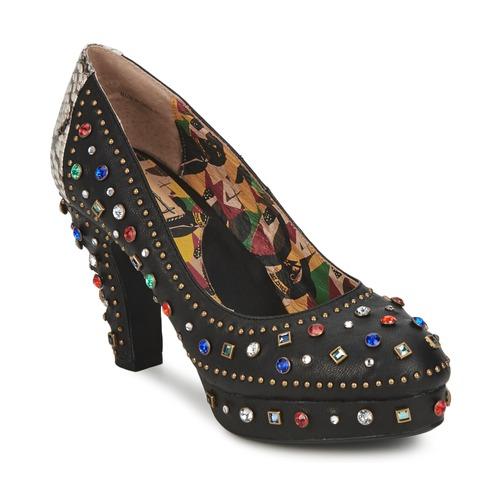 Shoes Women Heels Miss L'Fire SHOWGIRL Black