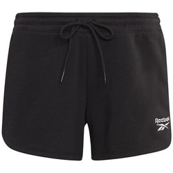 Clothing Women Shorts / Bermudas Reebok Sport French Terry Short Black