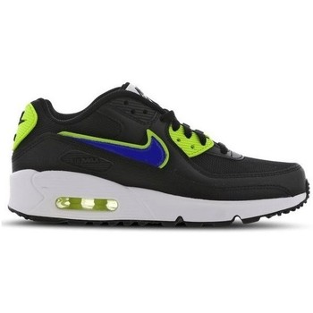 Shoes Children Low top trainers Nike Air Max 90 Black