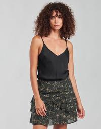 Clothing Women Tops / Blouses Ikks BN11265 Black